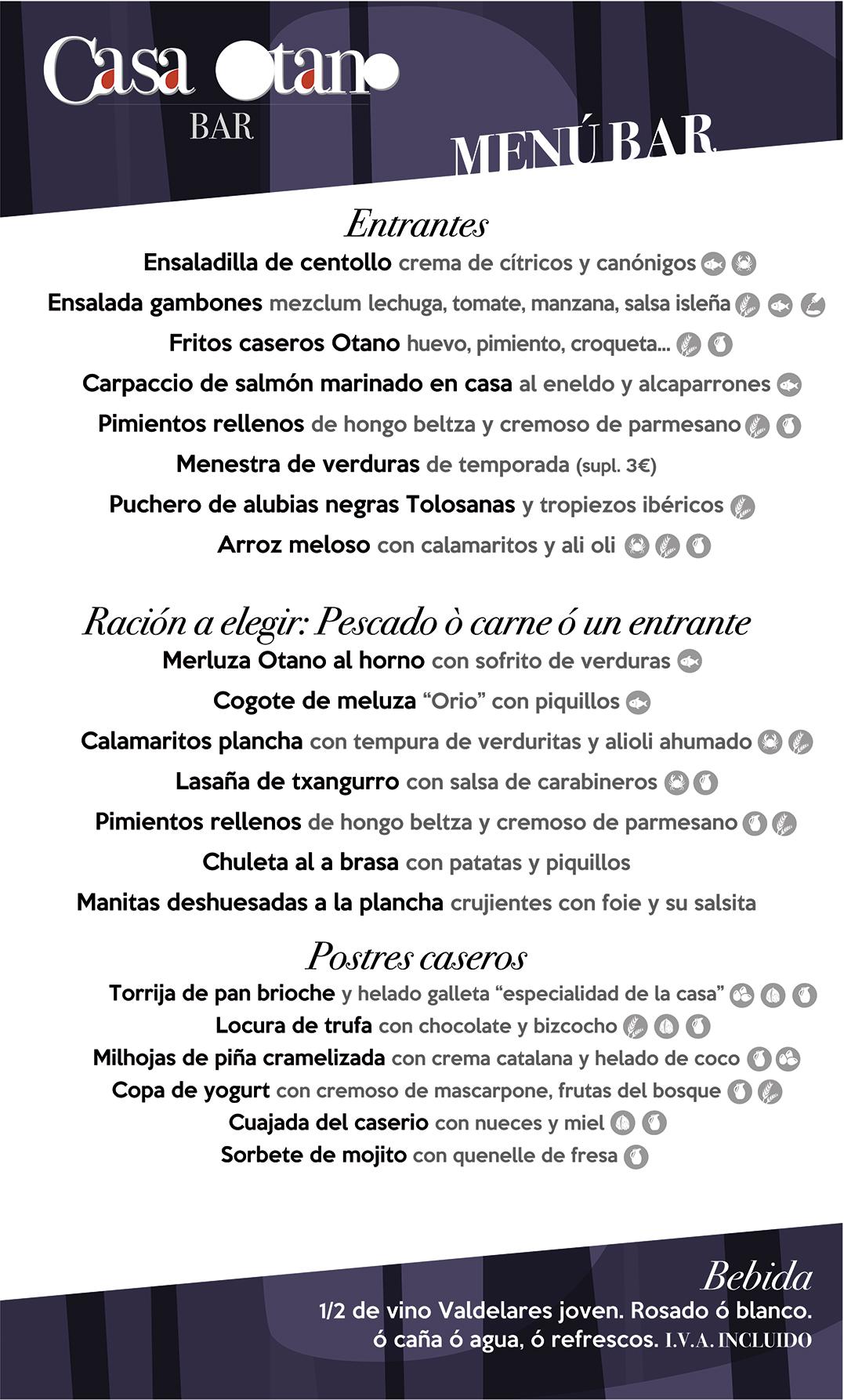 menu bar 2020