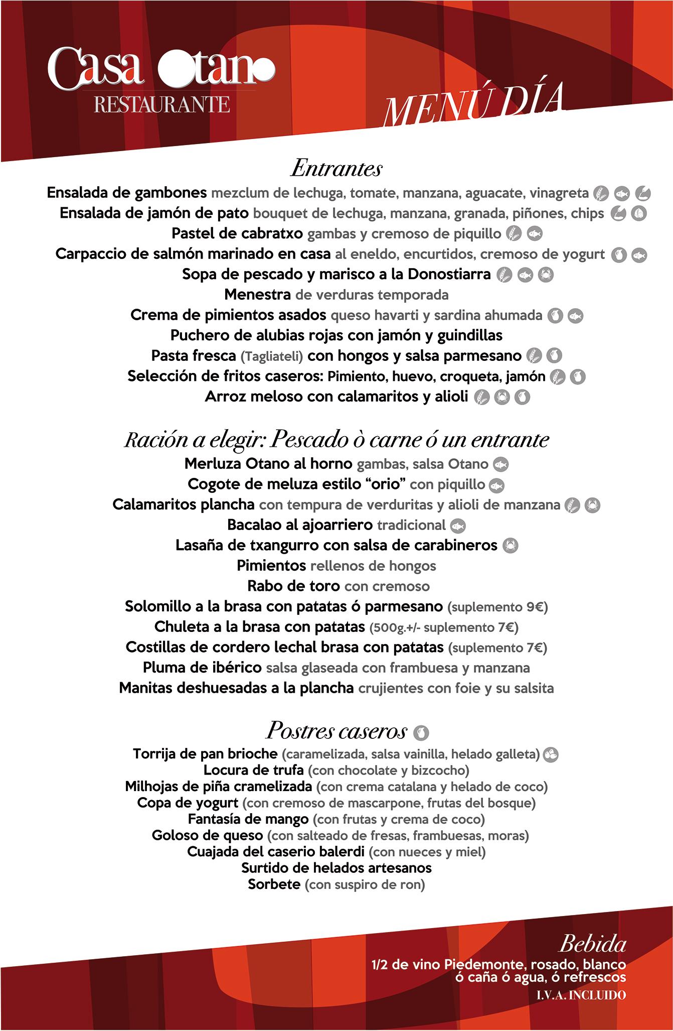 menu dia mayo